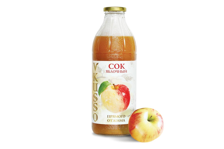 Яблочный сок Vkusso